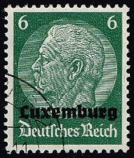 Buy Luxembourg #N4 Hindenburg - German Occupation; Used (5Stars) |LUXN04-01XRP