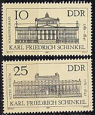 Buy GERMANY DDR [1981] MiNr 2619-20 ( **/mnh ) Bauwerke