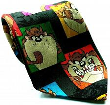 Buy Looney Tunes Mania Taz Tasmanian Devil Faces Cartoon Novelty Necktie