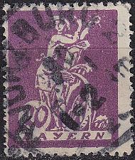 Buy GERMANY Bayern Bavaria [1920] MiNr 0181 ( O/used )