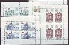Buy GERMANY DDR [1987] MiNr 3075-78 KB ( **/mnh ) Bauwerke