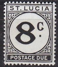 Buy ST. LUCIA [Porto] MiNr 0009 ( **/mnh )
