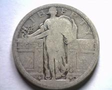 Buy 1917 TYPE 1 STANDING LIBERTY QUARTER ABOUT GOOD AG NICE ORIGINAL COIN BOBS COINS