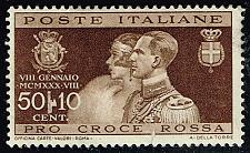 Buy Italy #240 Royal Wedding; Unused (2.40) (1Stars) |ITA0240-01