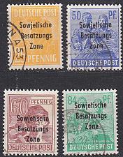 Buy GERMANY Alliiert SBZ [Allgemein] MiNr 0182 ex ( O/used ) [04]