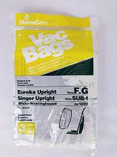 Buy Home Care Vacuum Cleaner Bags Upright 3026 Eureka F&G Singer Singer Sub-1