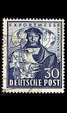 Buy GERMANY Alliiert AmBri [1949] MiNr 0105 ( O/used )