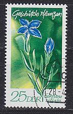 Buy GERMANY DDR [1970] MiNr 1565 ( OO/used ) Blumen
