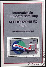 Buy GERMANY DDR [1980] MiNr 2520 Block 59 ( OO/used ) Flugzeuge