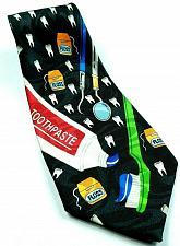Buy Dentist Dental Hygenist Teeth Toothpaste Toothbrush Floss Novelty Tie