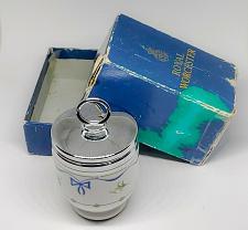 Buy VINTAGE ROYAL WORCESTER SINGLE EGG CODDLER IN THE ORIGINAL BOX RARE