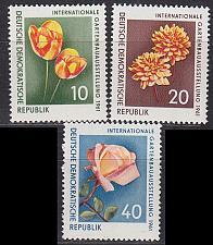 Buy GERMANY DDR [1961] MiNr 0854-56 ( **/mnh ) Blumen