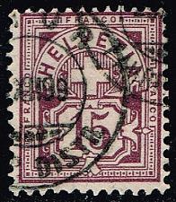 Buy Switzerland #76 Numeral; Used (5.75) (1Stars) |SWI0076-01XRS