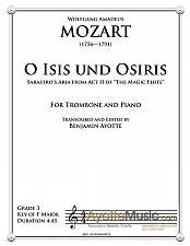 Buy Mozart - O Isis uns Osiris (Trombone)