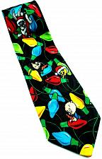Buy Looney Tunes Mania Christmas Lights Bugs Bunny Taz Tweety Porky Pig Novelty Tie