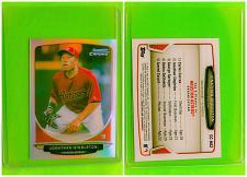 Buy MLB JONATHAN SINGLETON ASTROS 2013 BOWMAN CHROME MINI REFRACTOR MINT