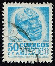 Buy Mexico #881 Carved Head from Veracruz; Used (3Stars)  MEX0881-04XRS