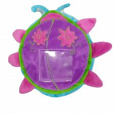 "Buy GMA Access Ladybug Plush Blue Green Purple Stuffed Animal 9"""