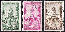 Buy GERMANY Saar [1956] MiNr 0373-75 ( O/used )