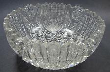 Buy American Brilliant Period hand Cut Glass bowl Antique blown blank
