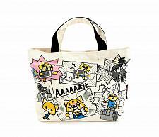 Buy New Hello Kitty Aggretsuko Mini Canvas Tote Bag Office Free Shipping