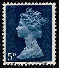 Buy Great Britain #MH8 Machin Head; Used (0.25) (3Stars) |GBRMH008-06XBC