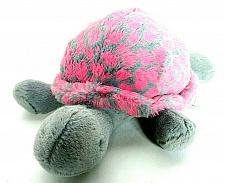 "Buy Jellycat Gray Pink Turtle Tortoise Plush Stuffed Animal 12"""