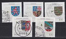 Buy GERMANY BUND [1994] MiNr 1712-16 ( O/used ) Wappen
