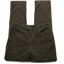"Buy Talbots Womens Heritage Dress Pants 32"" Waist Brown Corduroy Stretch"