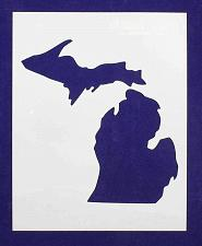 Buy State of Michigan 8x10 Stencil 14 Mil Mylar - Painting /Crafts/ Templates