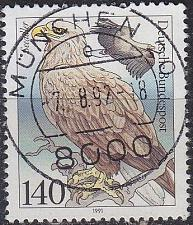 Buy GERMANY BUND [1991] MiNr 1542 ( O/used ) Vögel