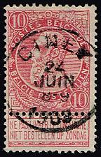 Buy Belgium #66 King Leopold II; Used (3Stars) |BEL0066-08XRS