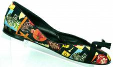 Buy Salvatore Ferragamo Women's Stampa Flats Jungle Animal Floral Loafers 11 B