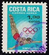 Buy Costa Rica #C486 High Diving; Used (0.25) (3Stars) |COSC0486-01