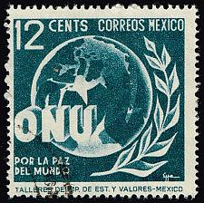 Buy Mexico #815 Allegory of World Peace; Used (0.25) (2Stars) |MEX0815-01XRS