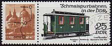 Buy GERMANY DDR [1980] MiNr 2562 WZd477 ( OO/used ) Eisenbahn