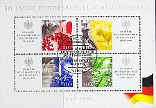 Buy GERMANY BUND [1999] MiNr 2051-65 Block 49 ( Sonder-O/used )