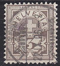 Buy SCHWEIZ SWITZERLAND [1882] MiNr 0051 Y a ( O/used )