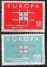 Buy TÜRKEI TURKEY [1963] MiNr 1888-89 ( O/used ) CEPT