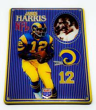 Buy NFL 1993 Metallic Images Quarterback Collection Metal Card #9 JAMES HARRIS RAMS