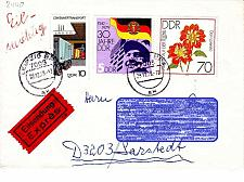 Buy GERMANY DDR [1979] MiNr 2440 ( Brief ) [02] Blumen