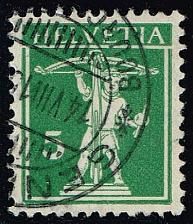 Buy Switzerland #157 William Tell's Son; Used (0.75) (2Stars) |SWI0157-05XRS