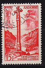 Buy ANDORRA FRANZÖSISCH [1955] MiNr 0150 ( O/used )