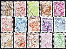 Buy VIETNAM [1984] MiNr 1529-43 ( O/used ) Tiere