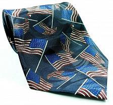 Buy American Flags Patriotic Stars Stripes Novelty Necktie