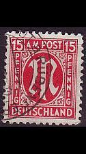 Buy GERMANY Alliiert AmBri [1945] MiNr 0024 A ( O/used )