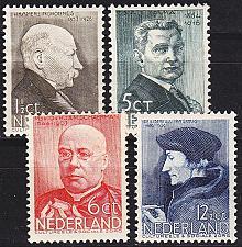 Buy NIEDERLANDE NETHERLANDS [1936] MiNr 0291-94 ( */mh )