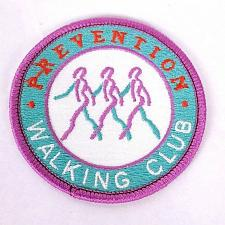 Buy Prevention Walking Club Iron On Clothing Patch