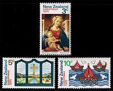 Buy New Zealand #581-583 Christmas Set of 3; MNH (0.95) (4Stars) |NWZ0583set-02XKN