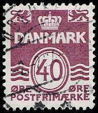 Buy Denmark #689 Wavy Lines; Used (3Stars) |DEN0689-04XBC